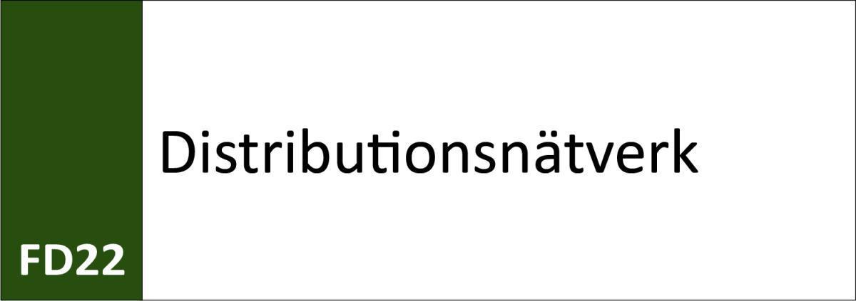 FD22 Distributionsnätverk