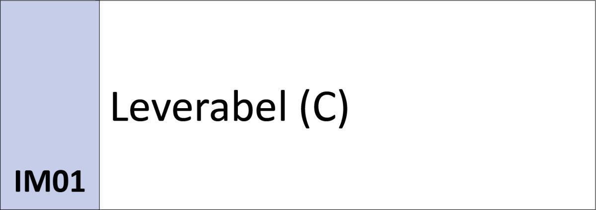 IM01 Leverabel (C)