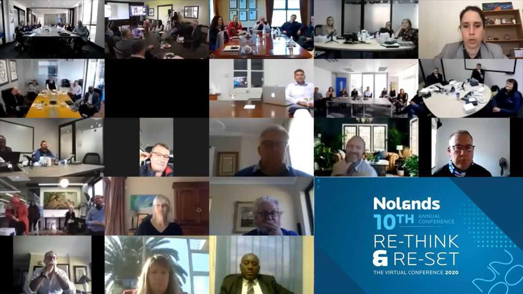 Nolands 10th Conference – On time and online.