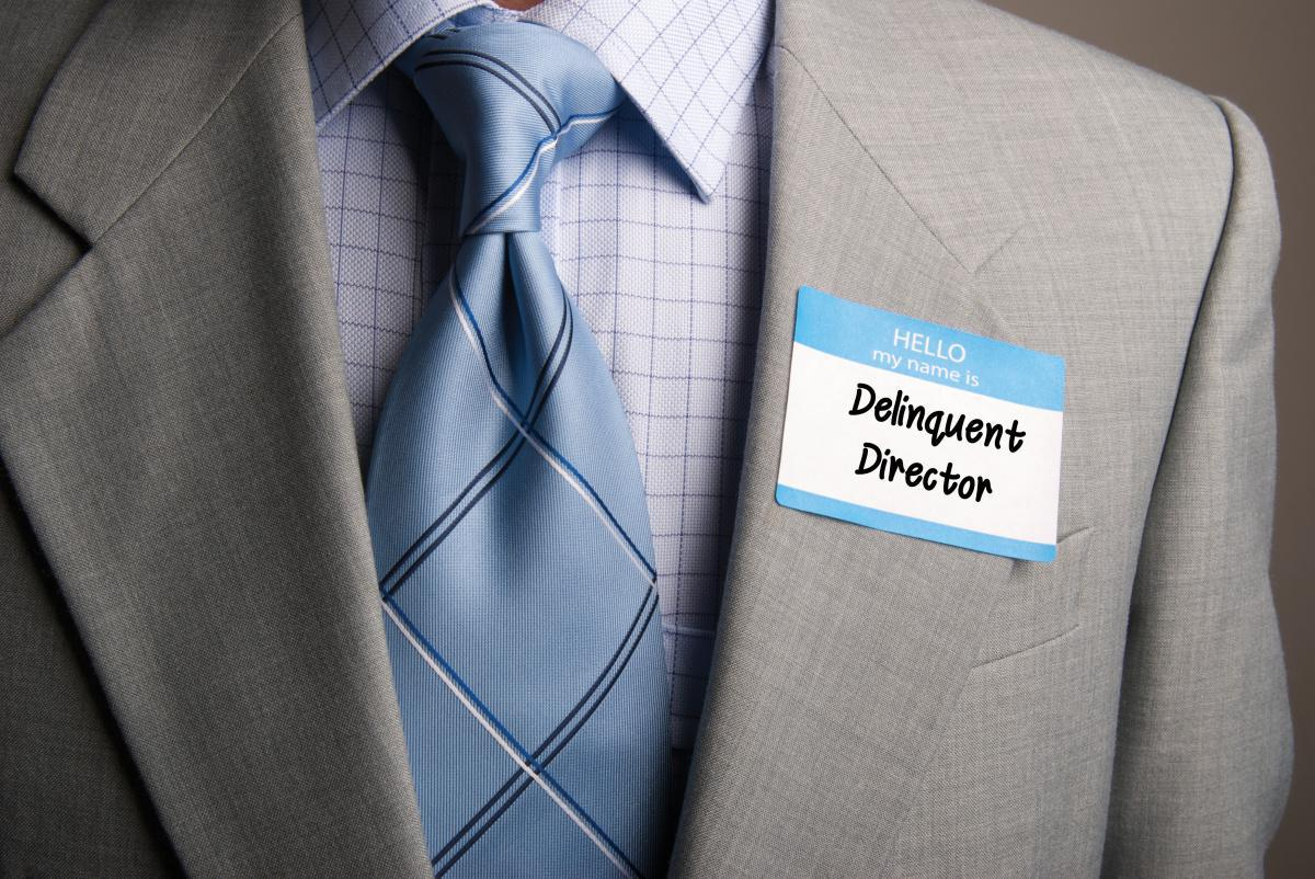 Delinquent Director