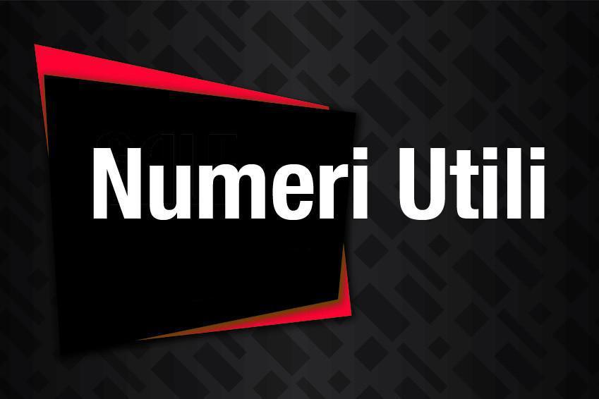 Numeri e Info Utili