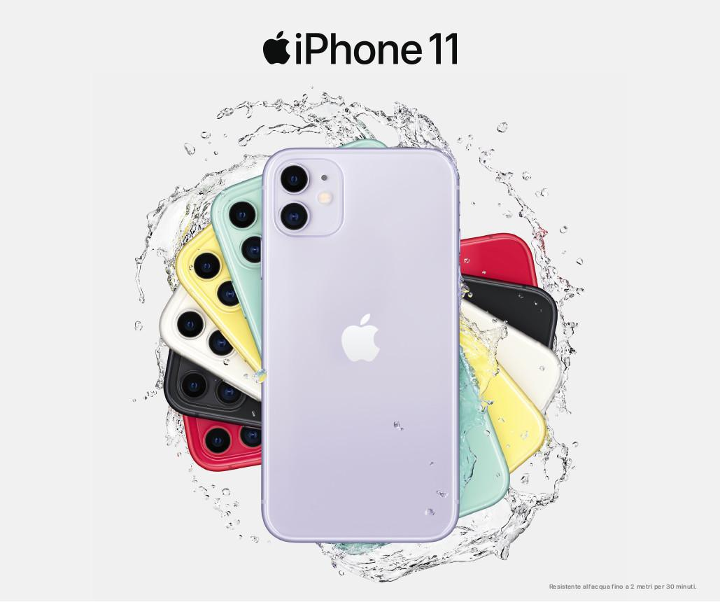 Minuti illimitati, sms illimitati, 100 Giga e il nuovo iPhone 11 da 34,98!