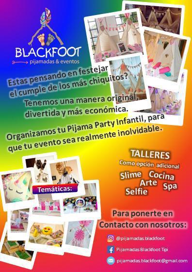Pijamadas Blackfoot