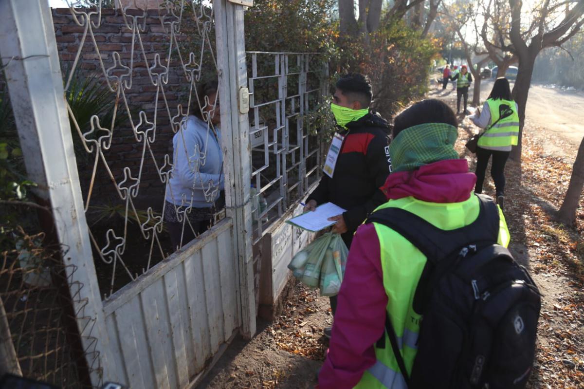 Comenzó en Luján el operativo en barrios vulnerables por el COVID-19