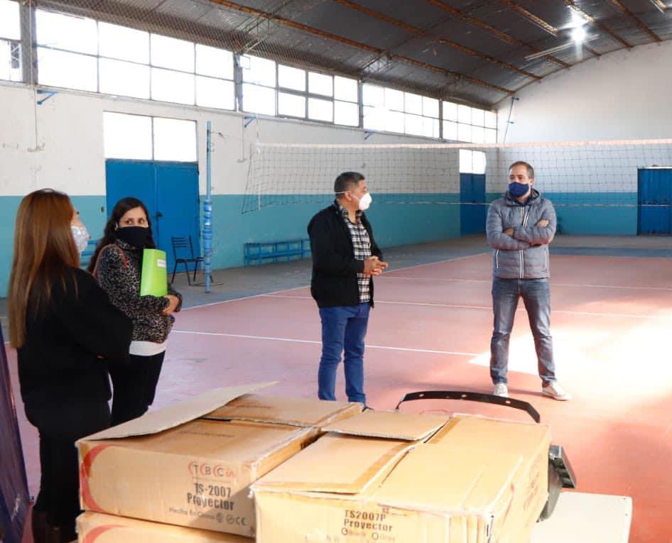 Stevanato visitó las instalaciones de Gutiérrez Sport Club