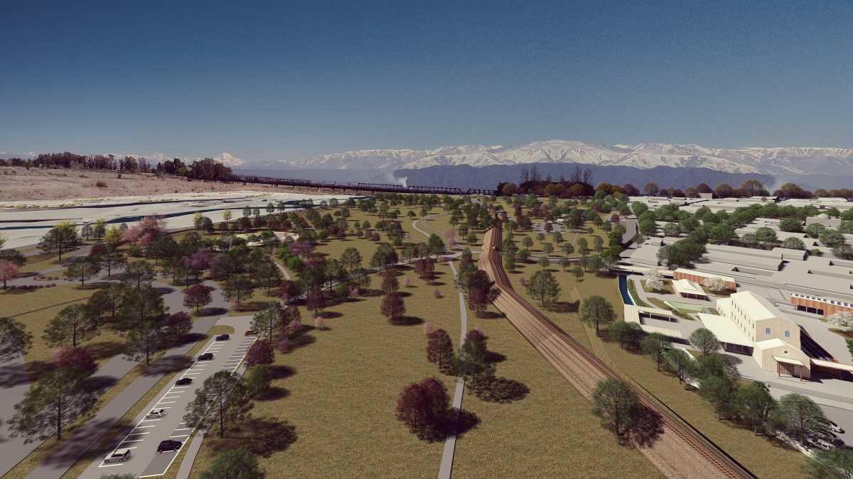 La Municipalidad de Luján avanza en el Parque de la Ribera
