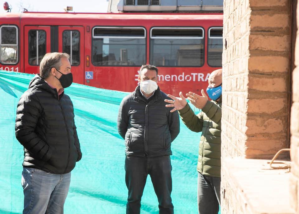 Maipú realiza obras en la estación de transferencia del Metro tranvía