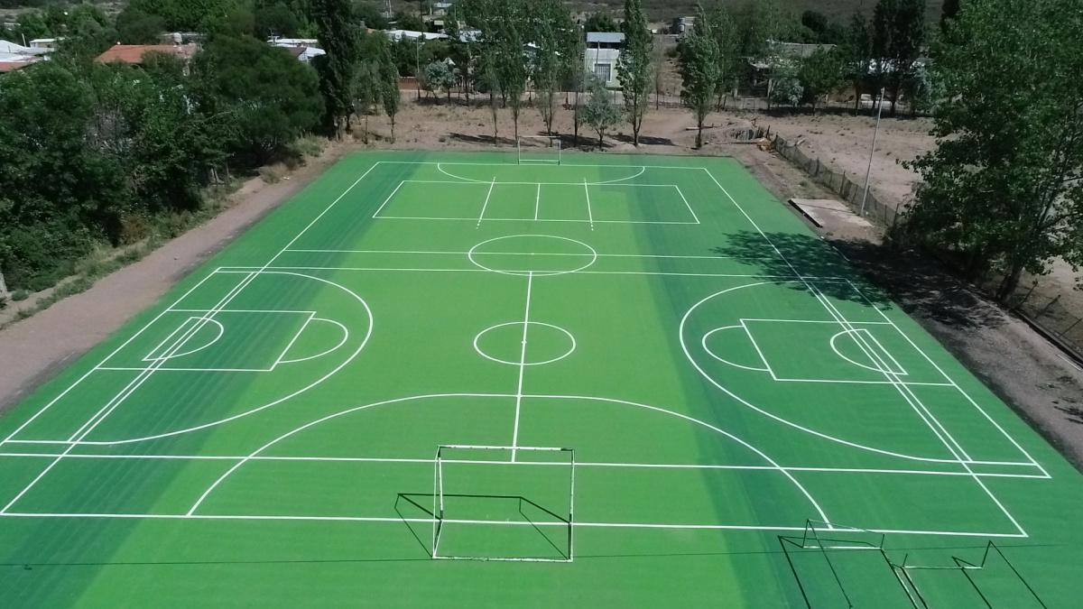 Nuevo Playón Deportivo en Las Compuertas
