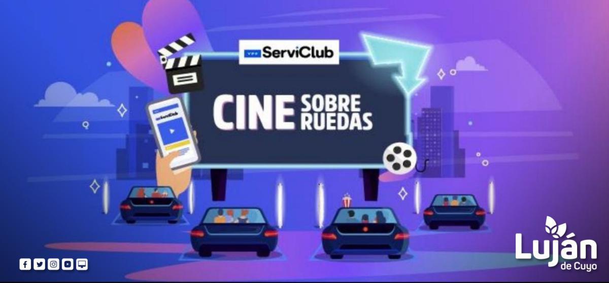 """Bragagnolo presentó para Luján el """"Cine sobre ruedas"""""""