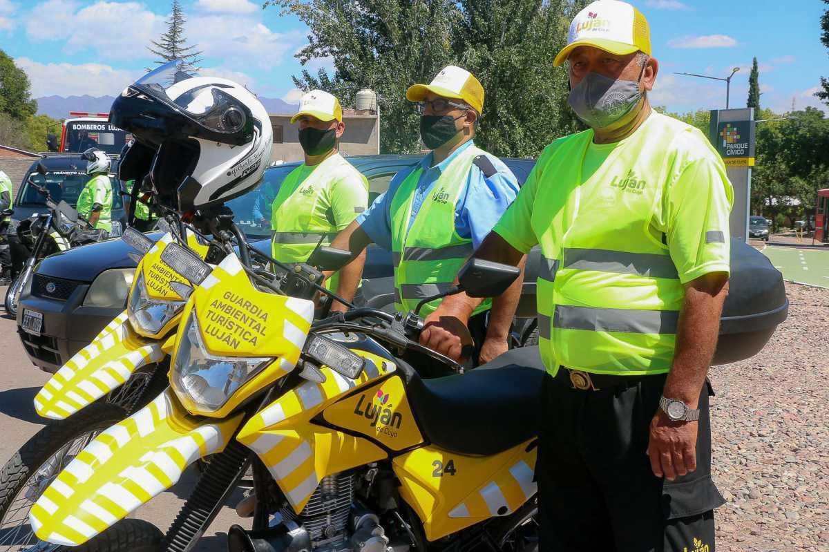 El Intendente Bragagnolo presentó la Guardia Ambiental y Turística