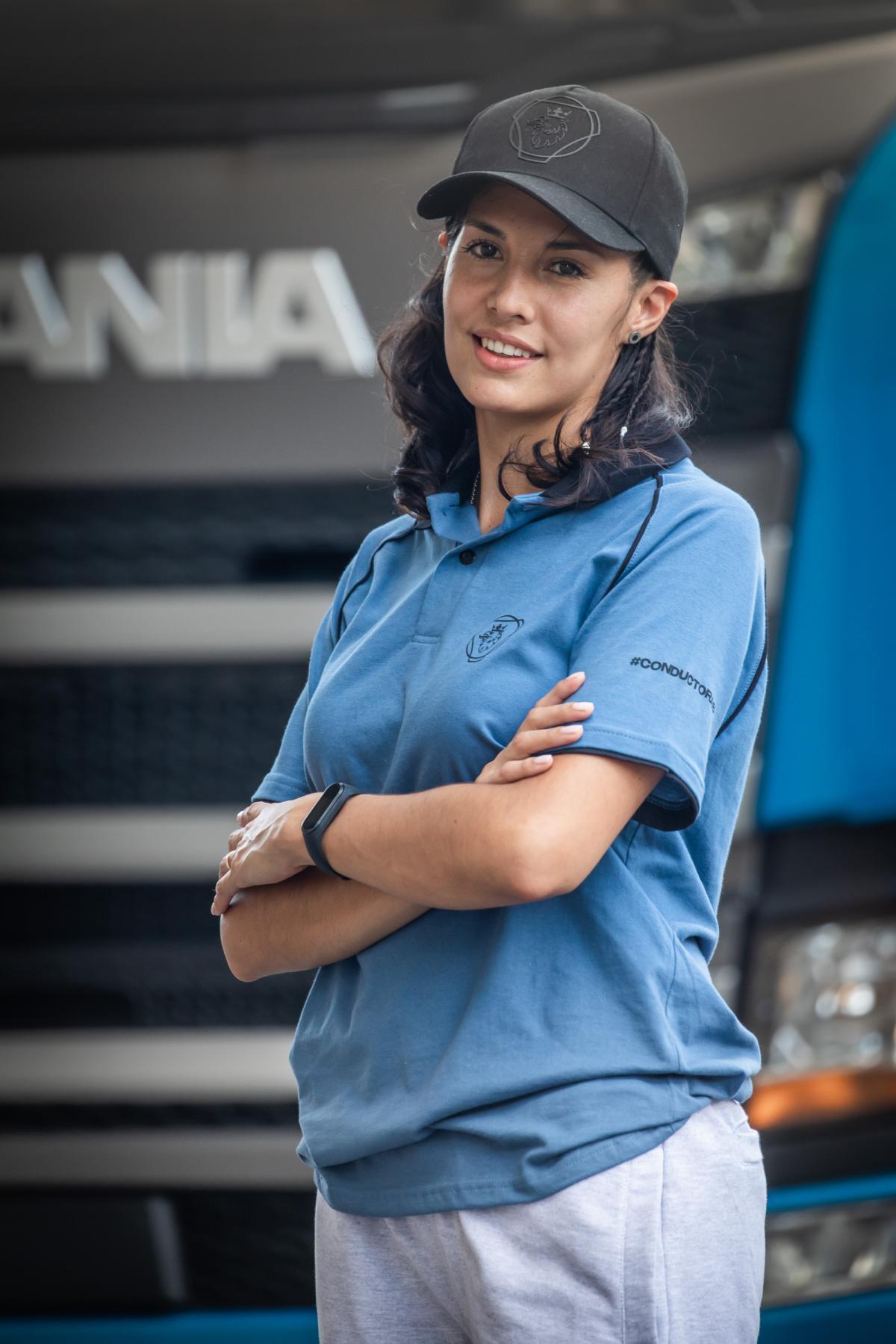 Una Lujanina quedó entre las mejores de la academia Scania Conductoras