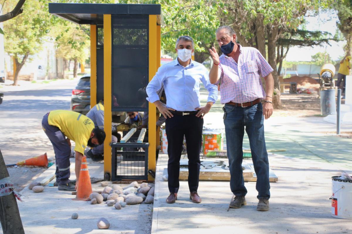 La Municipalidad recuperó la Plaza Cioppo de Mayor Drummond