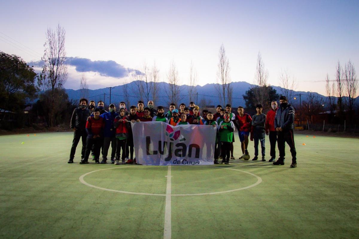 Luján de Cuyo lleva a cabo la inversión en infraestructura deportiva más grande de su historia