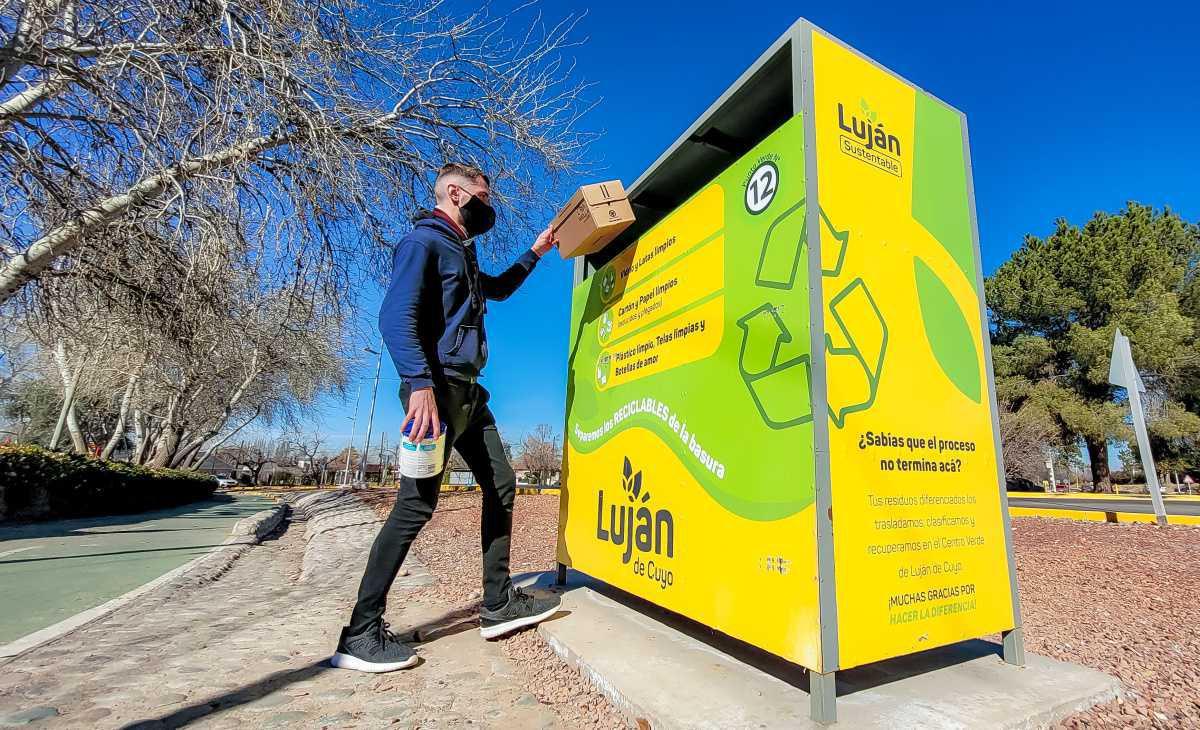 En Luján, los vecinos, son los grandes aliados de los Puntos Verdes del departamento