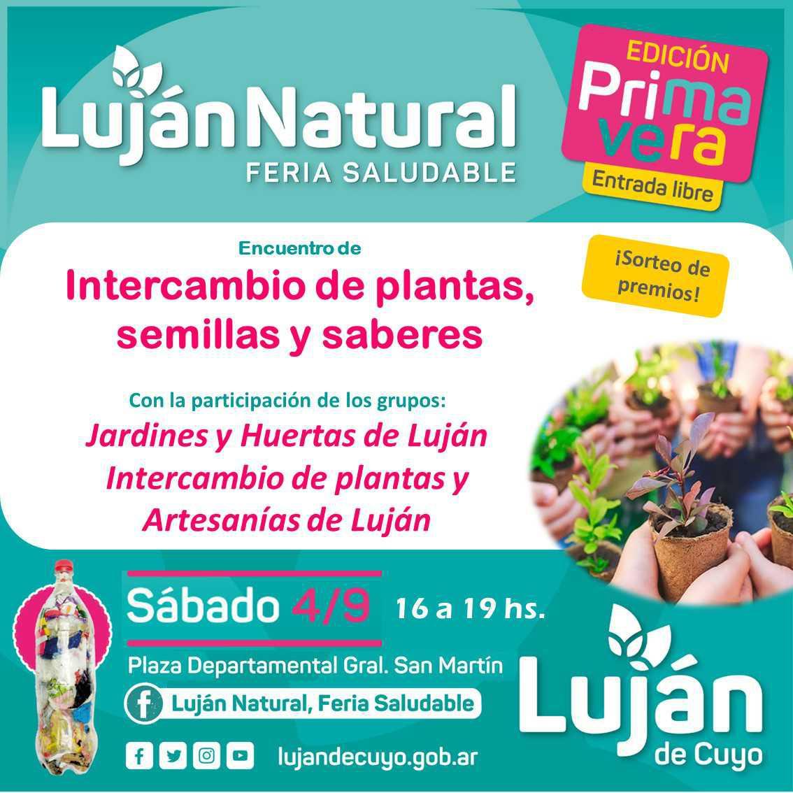 Se viene otra Feria de Luján Natural
