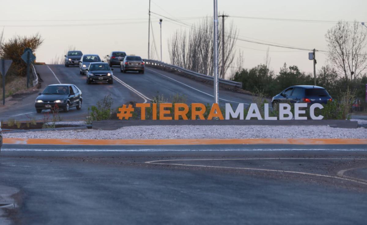 La Municipalidad de Luján concluyó la segunda rotonda de calle Boedo