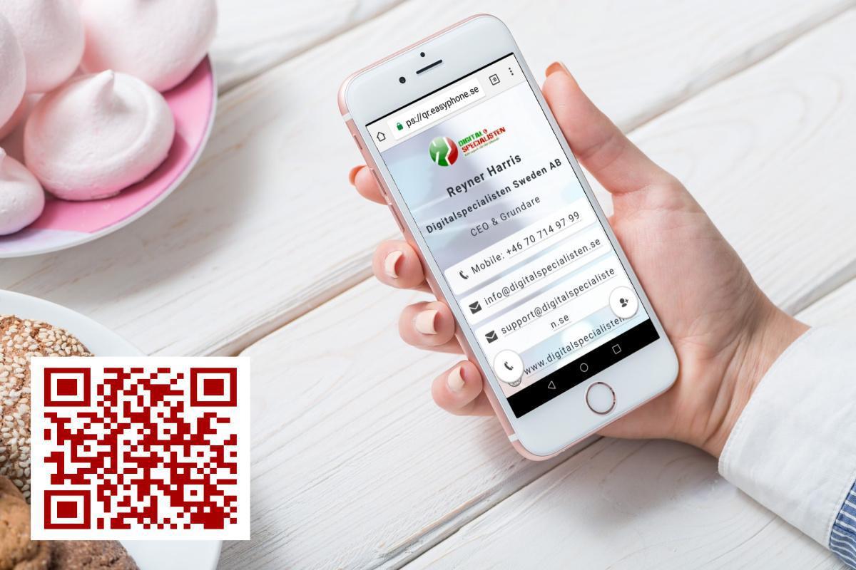 Ditt nya Digitala Visitkort