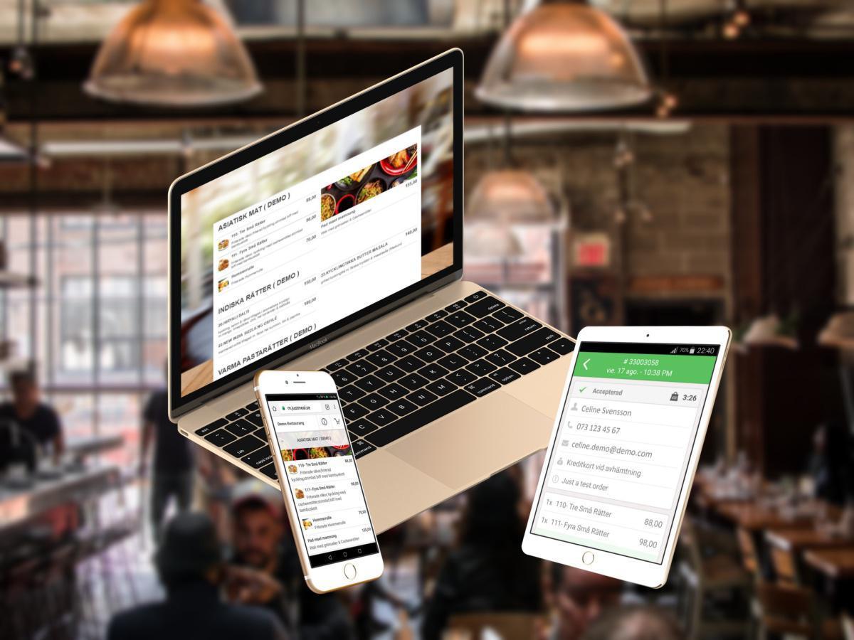 JustMeal - Online Matbeställningssystem