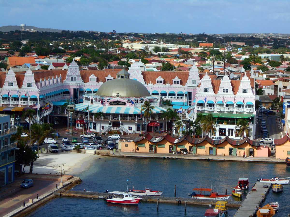 Los colombianos en Aruba