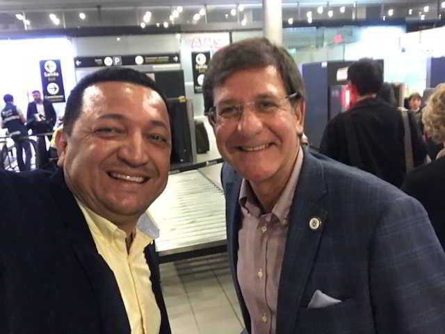 Entrevista al Secretario de Estado del Gobierno de Puerto Rico, Licenciado Luis Gerardo Rivera Marín en su reciente Visita a Colombia.