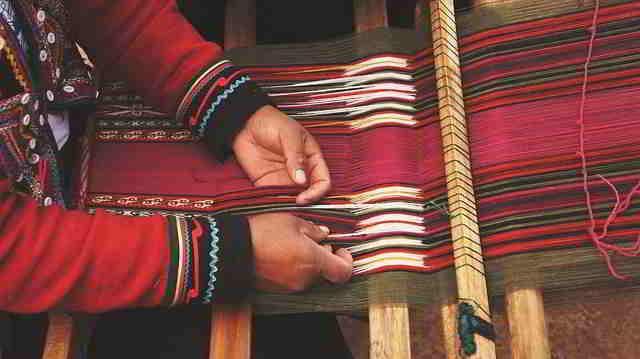 Cultura de los tejidos en Colombia