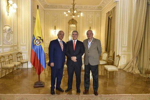 Lideres de Colombianos en el exterior expresan apoyo al presidente Iván Duque