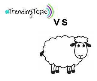 Trending topic vs borregos!