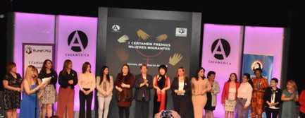 """""""Premios Mujeres Migrantes"""""""