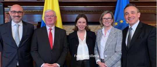 Colombia y la Unión Europea tuvieron en Bogotá el 11° Diálogo de Derechos Humanos