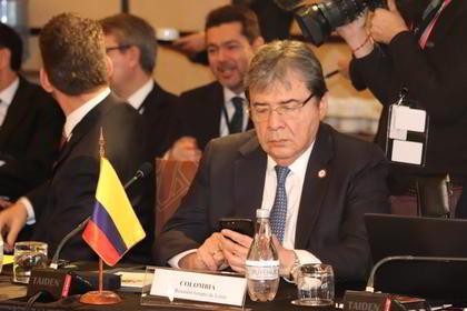 Colombia pide que Grupo de Lima emita una declaración audaz, fuerte y vigorosa que se convierta en un mensaje político contundente sobre situación en Venezuela