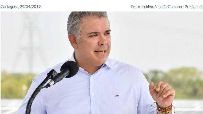 Todo colombiano tiene un emprendedor en el corazón y por eso somos un país que no para, afirma Presidente Duque