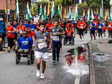 Presidente Duque acompaña hoy domingo a los héroes de Colombia en la Carrera 10 K