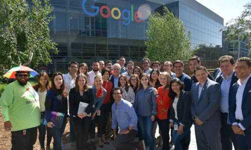 En Silicon Valley, Presidente Duque estuvo acompañado por 14 emprendedores colombianos