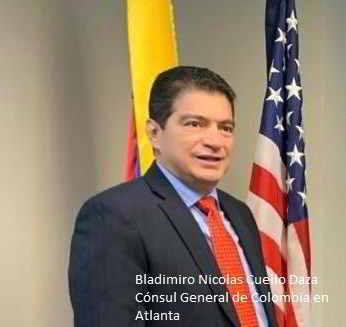 """Consulado de Colombia en Atlanta """"1200 presos en las cárceles Norteamericanas""""."""