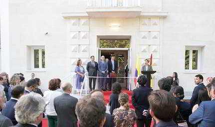 Se inauguró el Colegio Mayor colombiano Miguel Antonio Caro en el Campus de la Universidad Complutense de Madrid