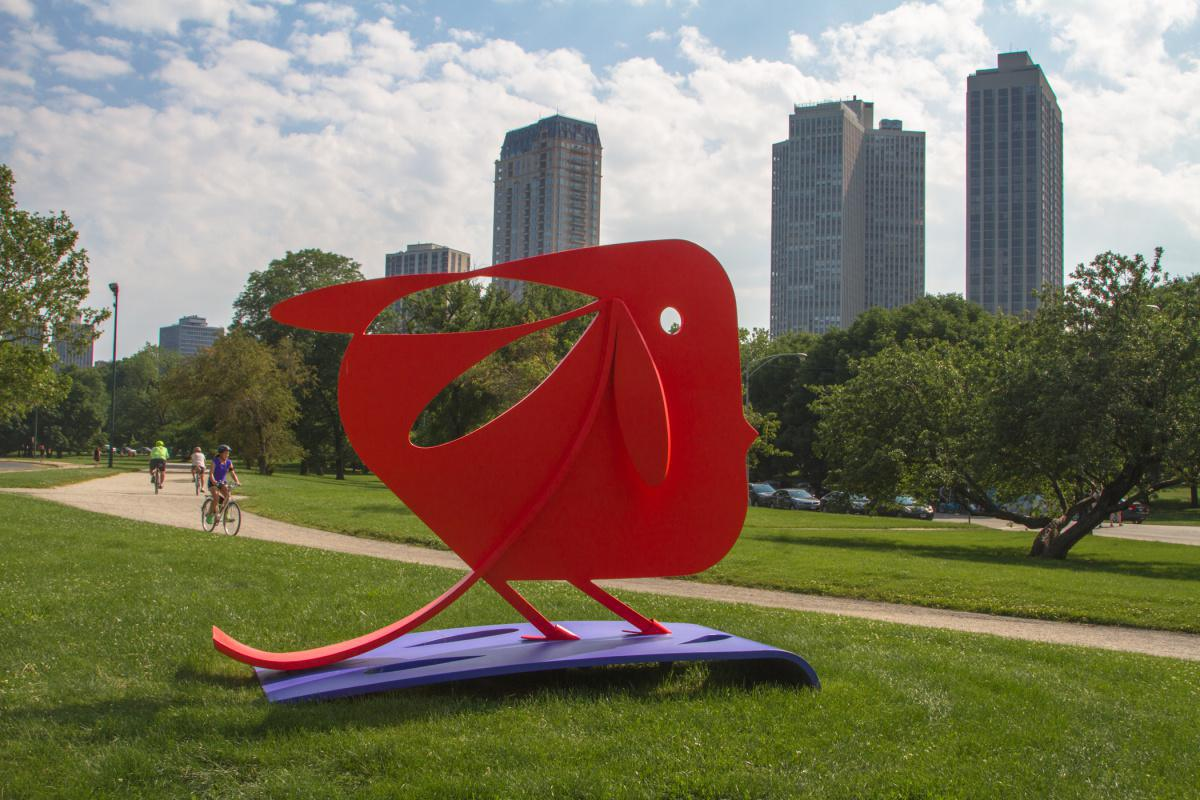Primera artista latinoamericana en exponer en Chicago Sculpture Exhibit es colombiana