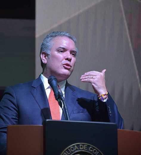 Presidente Duque confirma que, en la Asamblea de la ONU, alertará al mundo sobre los efectos nefastos de la dictadura en Venezuela