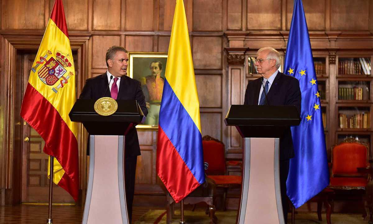 Presidente Duque valora apoyo de España y de toda la Unión Europea para atender crisis migratoria venezolana