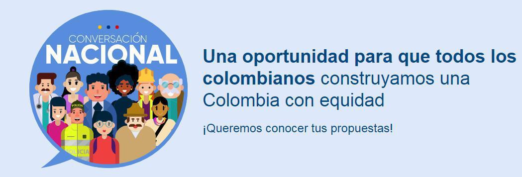 Presidente Duque lanza la plataforma de la Gran Conversación Nacional, un espacio para escuchar a todos los colombianos
