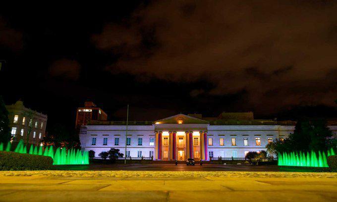 Por entrada en vigencia de cadena perpetua contra violadores y asesinos de niños, niñas y adolescentes, Casa de Nariño, ICBF y MinEducación se iluminan de verde