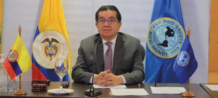 Colombia preside Consejo Directivo de la Organización Panamericana de la Salud (OPS) en reconocimiento a manejo de la pandemia