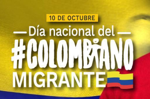 Cancillería conmemora este 10 de octubre el Día Nacional del Colombiano Migrante con más de 160 iniciativas para connacionales en el exterior
