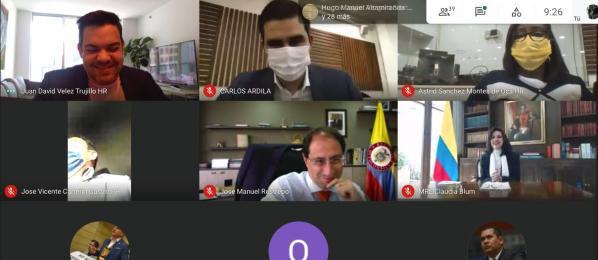 Canciller atendió sesión de la Comisión II de Cámara sobre proyecto Colombia Crece