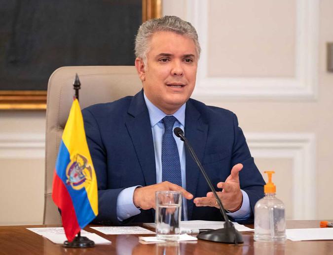 'Compromiso por Colombia no tiene ni color político, ni color partidista; lo que tiene es vocación de progreso': Duque