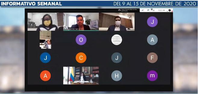 Informe De Gestión Congresista Juan David Vélez: sesiones en la Cámara y Comisión II, reuniones con Emiratos Árabes y Cancillería, diálogo con #ColombianosEnElExterior, entre otras.