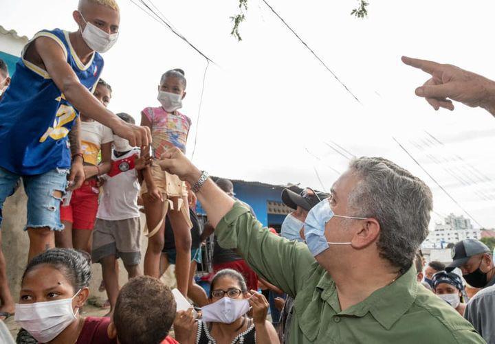 Presidente Duque pide solidaridad a los colombianos con damnificados por ola invernal en el país