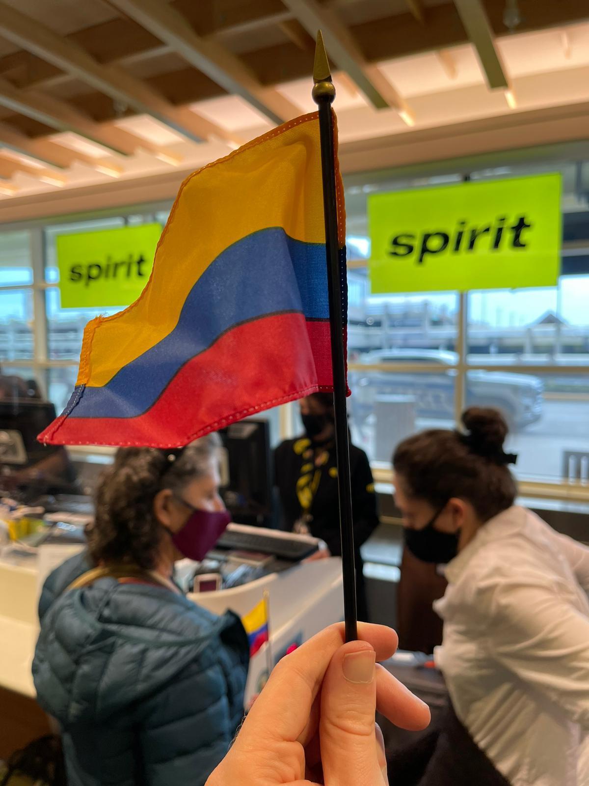 Apertura de vuelo directo de SpiritAirlines de Orlando a Bogotá