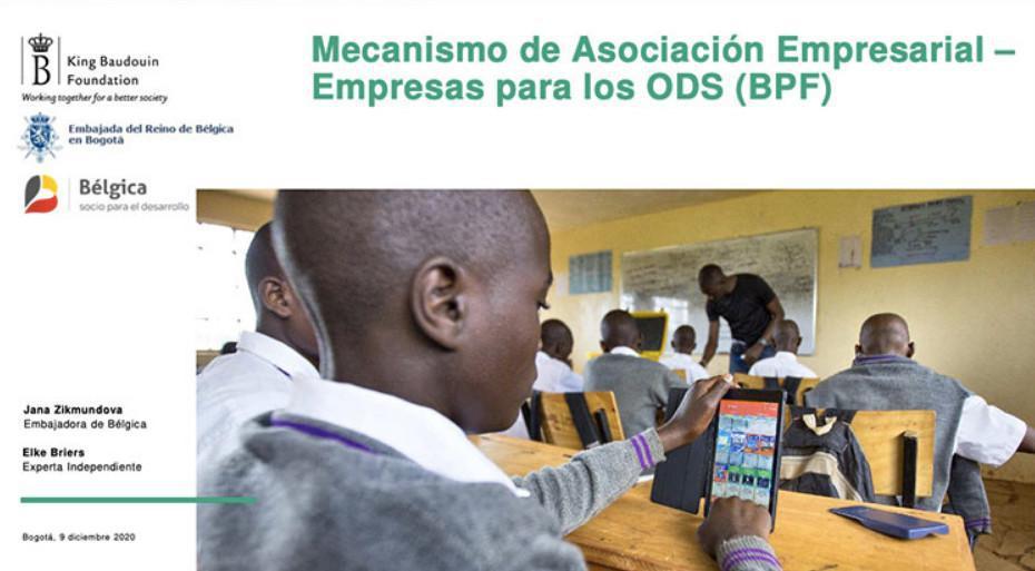 """Se abre convocatoria """"Mecanismo de Asociación Empresarial - Empresas para los ODS"""""""
