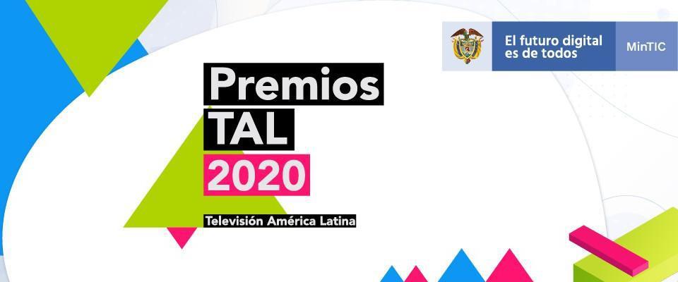 TV pública colombiana recibió 10 galardones en los premios TAL