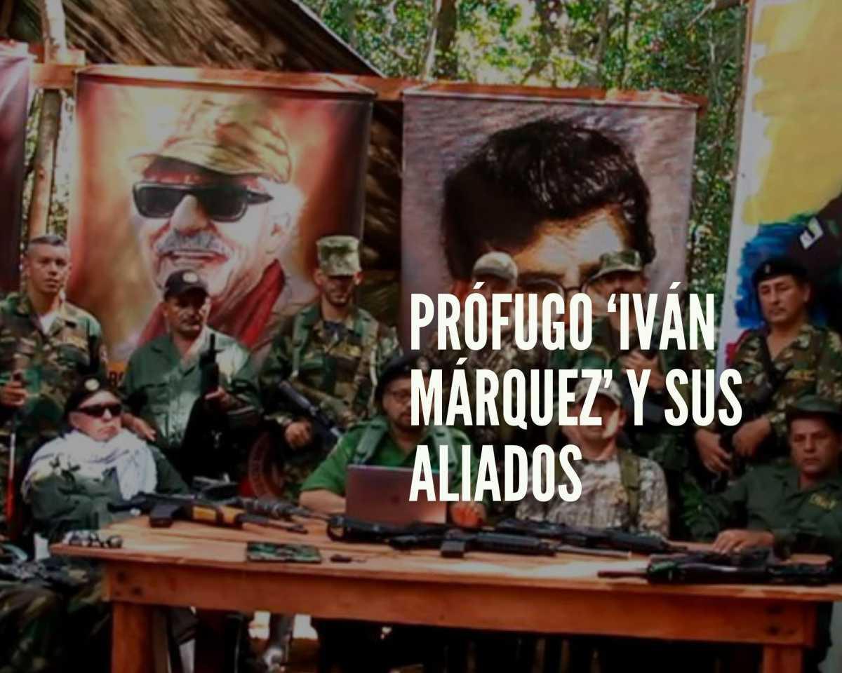 'Iván Márquez' y sus aliados persisten en minar la paz en Colombia